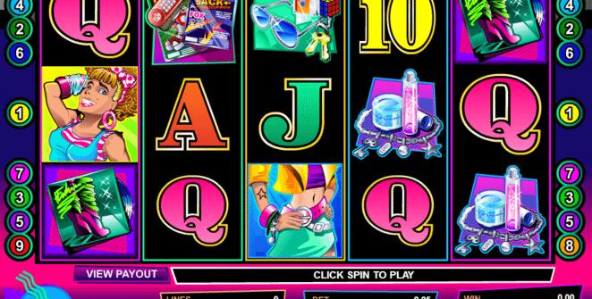 Kostenlose Spielautomat Crazy 80s Online