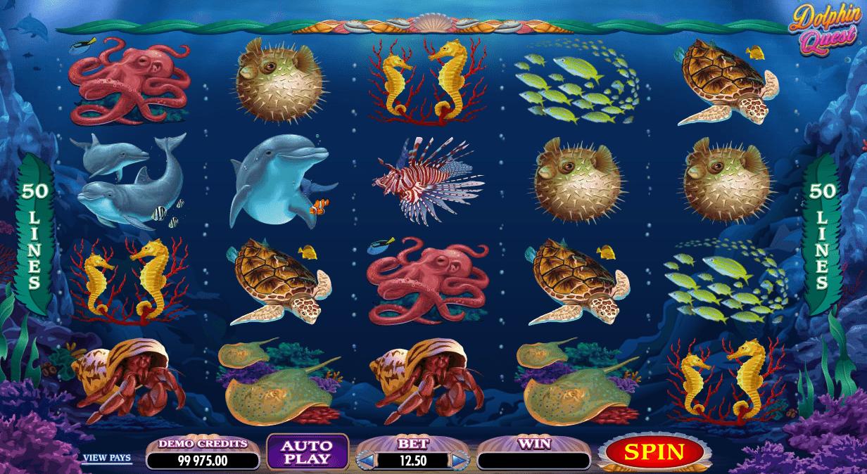 Poloautomat Dolphin Quest Online Kostenlos Spielen