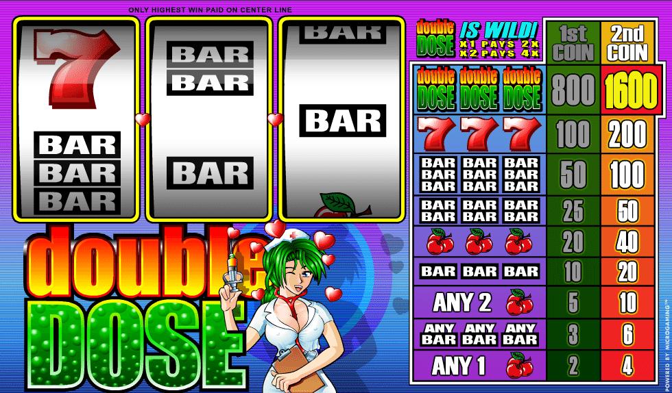 Kostenlose Spielautomat Double Dose Online