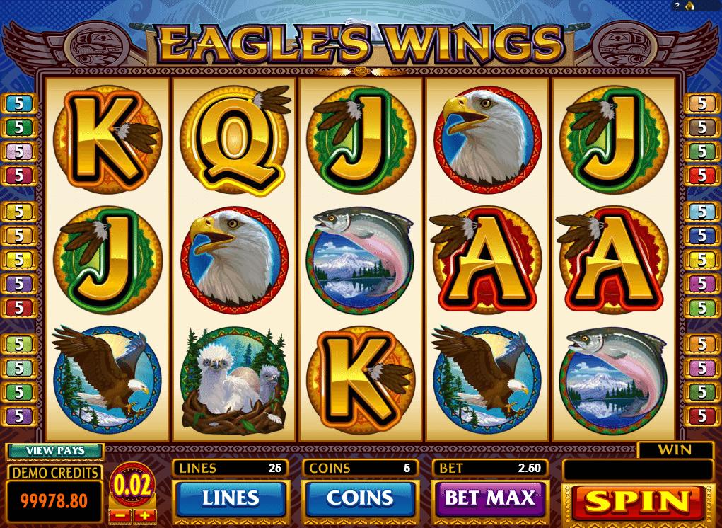 Kostenlose Spielautomat Eagles Wings Online