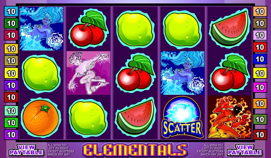 Spielautomat Elementals Online Kostenlos Spielen