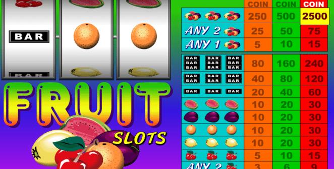 Casino Spiele Fruit Slots Online Kostenlos Spielen