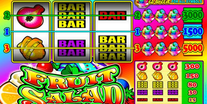 Kostenlose Spielautomat Fruit Salad Online