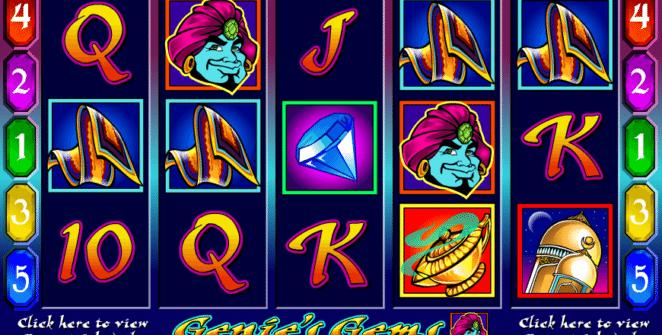 Kostenlose Spielautomat Genies Gems Online