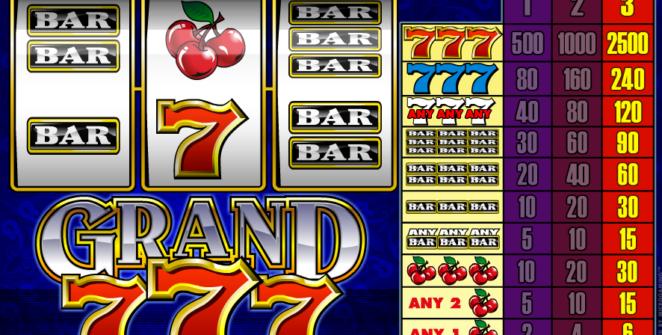 Kostenlose Spielautomat Grand 7s Online