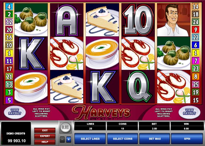 Kostenlose Spielautomat Harveys Online