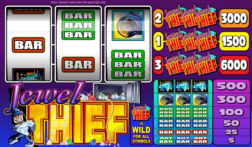 Spielautomat Jewel Thief Online Kostenlos Spielen