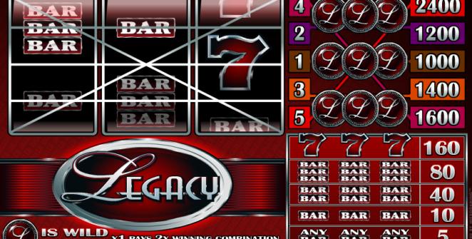 Kostenlose Spielautomat Legacy Online