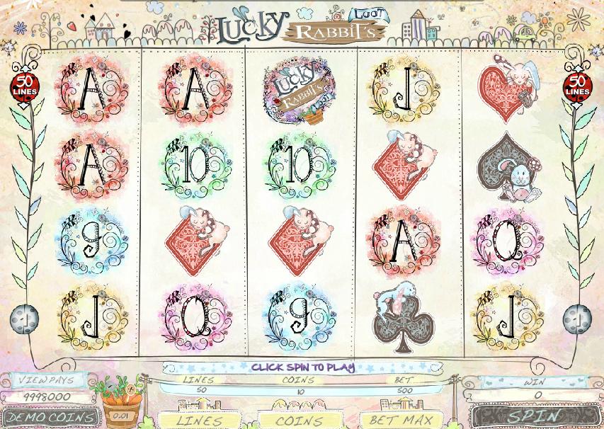 Casino Spiele Lucky Rabbits Loot Online Kostenlos Spielen