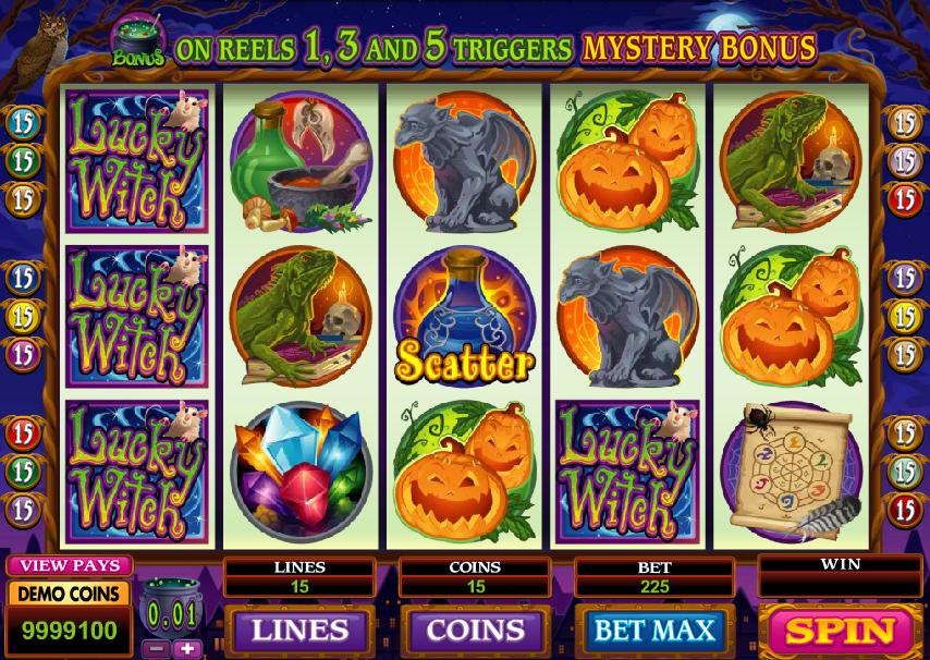 Lucky Witch Spielautomat Kostenlos Spielen