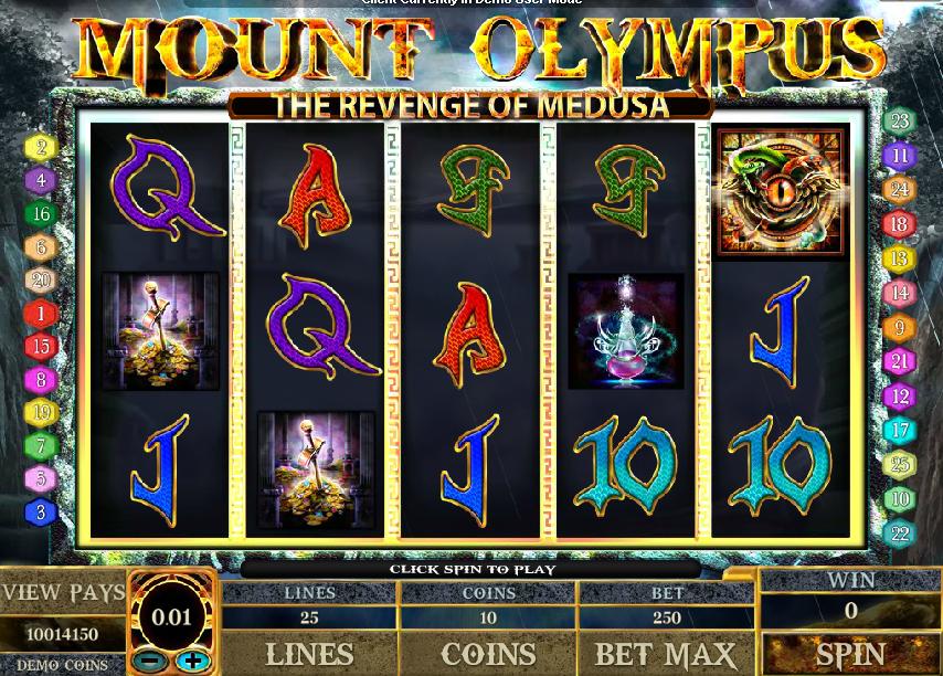 Kostenlose Spielautomat Mount Olympus Online