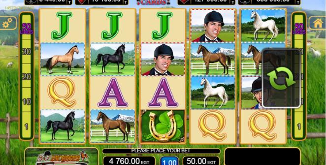 Kostenlose Spielautomat 50 Horses Online