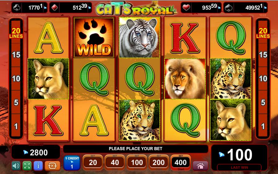 Cats Royal Spielautomat Kostenlos Spielen