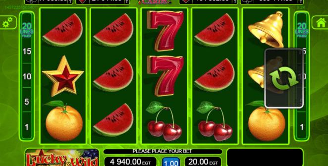 Lucky and Wild Spielautomat Kostenlos Spielen