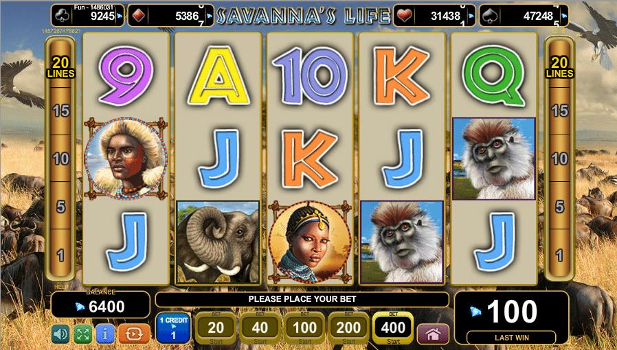 Savannas Life Spielautomat Kostenlos Spielen
