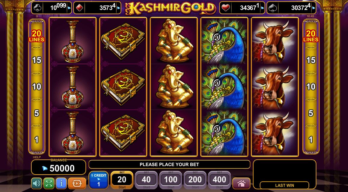 Spiele Kashmir Gold - Video Slots Online