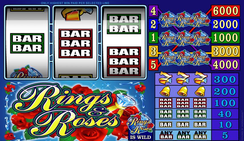Casino Spiele Rings and Roses Online Kostenlos Spielen