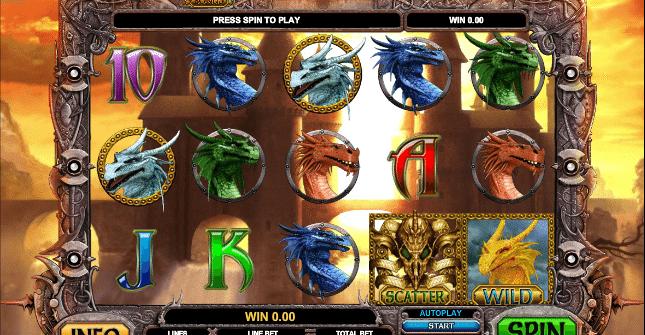 Kostenlose Spielautomat Dragon Slot Online