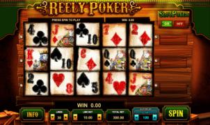 Kostenlose Spielautomat Reely Poker Online