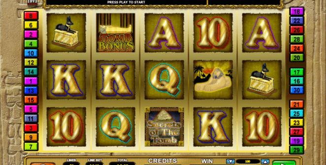 Secrets of the Tomb Spielautomat Kostenlos Spielen
