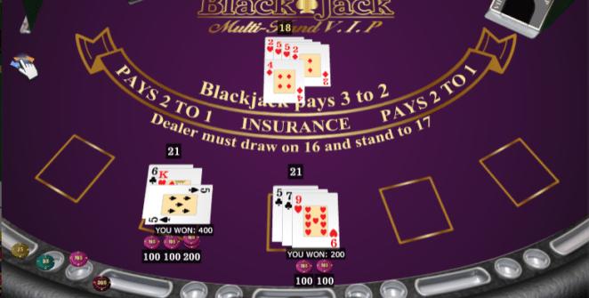 Casino Spiele Black Jack Multihand VIP Online Kostenlos Spielen