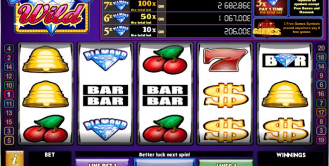 Casino Spiele Diamond Wild iSoft Online Kostenlos Spielen