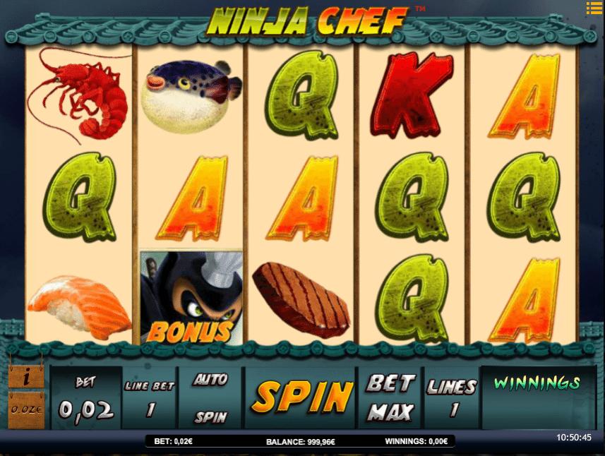 Kostenlose Spielautomat Ninja Chef Online
