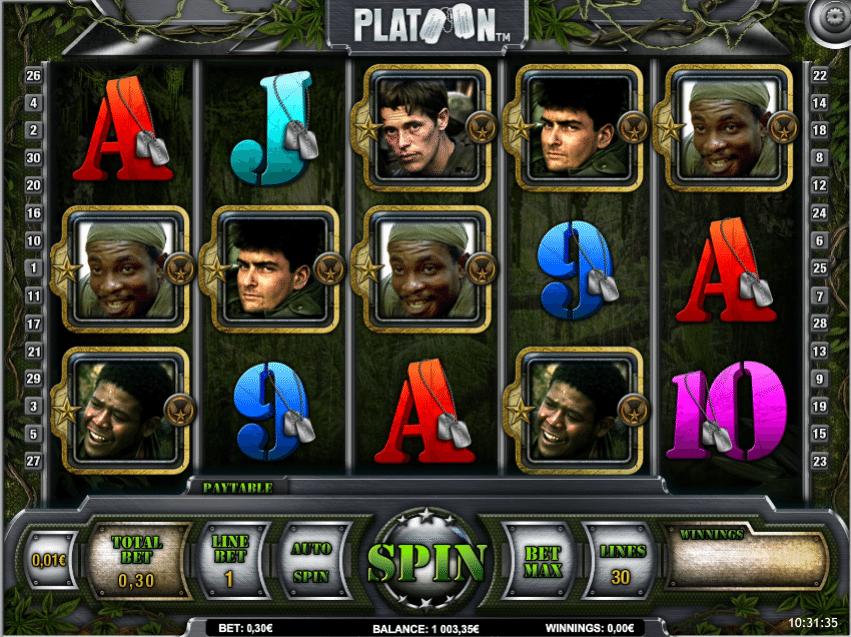 Platoon Spielautomat Kostenlos Spielen