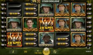 Platoon Wild Progressive Spielautomat Kostenlos Spielen