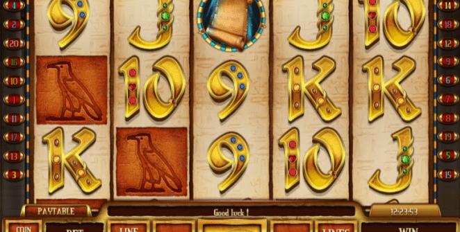 Spielautomat Scrolls of RA Online Kostenlos Spielen