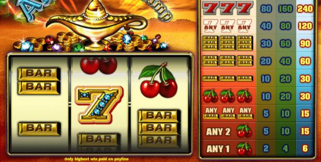 Spielautomat Aladdins Lamp TH Online Kostenlos Spielen