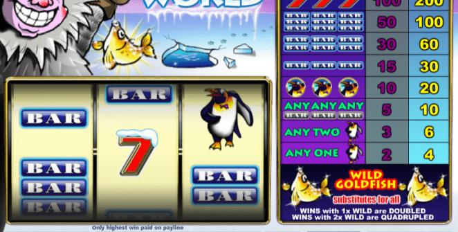 Kostenlose Spielautomat Arctic World Online