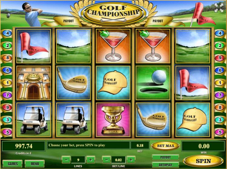 Spiele Golf Championship - Video Slots Online
