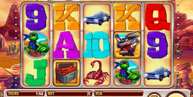 Kostenlose Spielautomat Coyote Crash Online