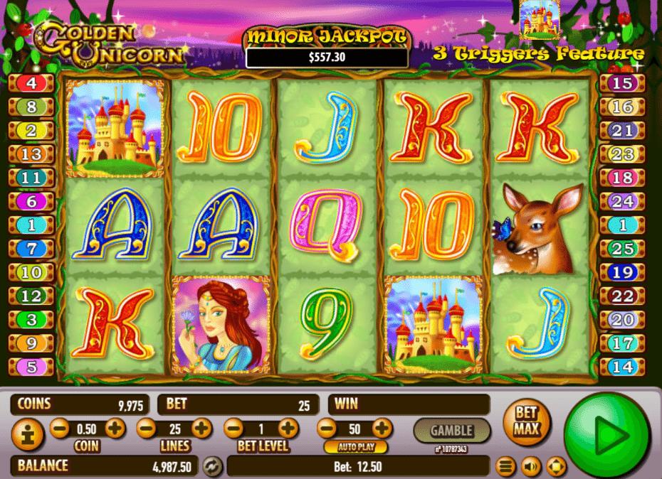 spielautomat golden unicorn kostenlos online  jetzt