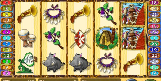 Kostenlose Spielautomat Jungle Rumble Online