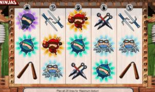 Kostenlose Spielautomat 5 Ninjas Online