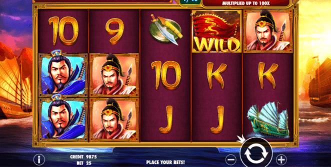 Spielautomat 3 Kingdoms Battle of Red Cliffs Online Kostenlos Spielen