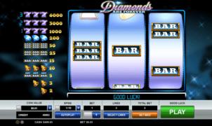 Kostenlose Spielautomat Diamonds are Forever Online