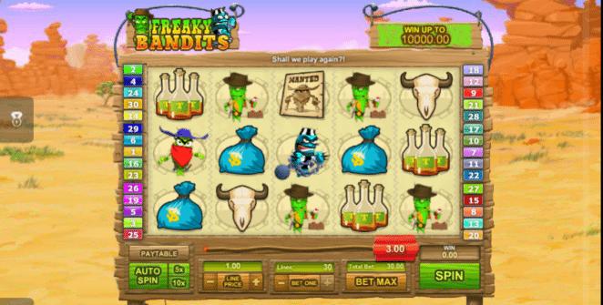 Freaky Bandits Spielautomat Kostenlos Spielen