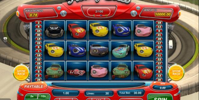 Kostenlose Spielautomat Freaky Cars Online
