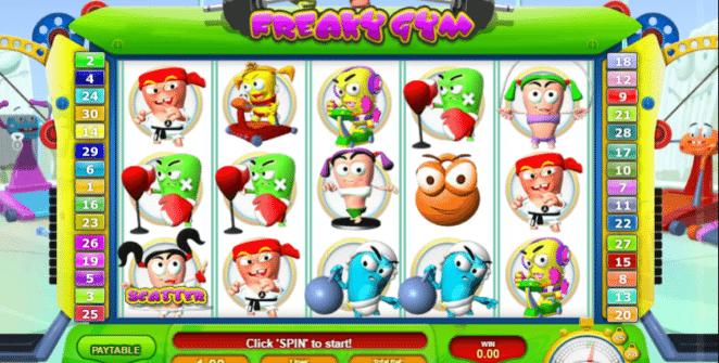 Spielautomat Freaky Gym Online Kostenlos Spielen