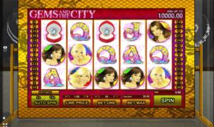 Gems and the City Spielautomat Kostenlos Spielen
