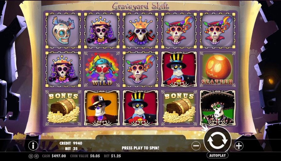 Spielautomat Graveyard Shift Online Kostenlos Spielen