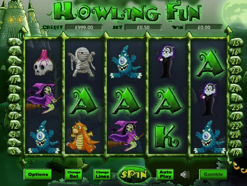 Howling Fun Spielautomat Kostenlos Spielen