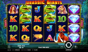 Kostenlose Spielautomat Jurassic Giants Online