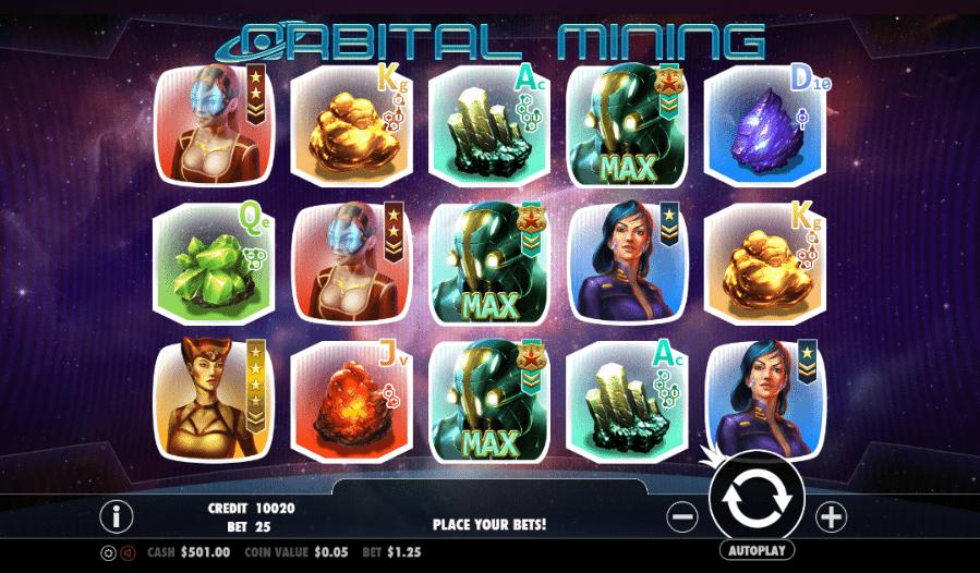 Spielautomat Orbital Mining Online Kostenlos Spielen