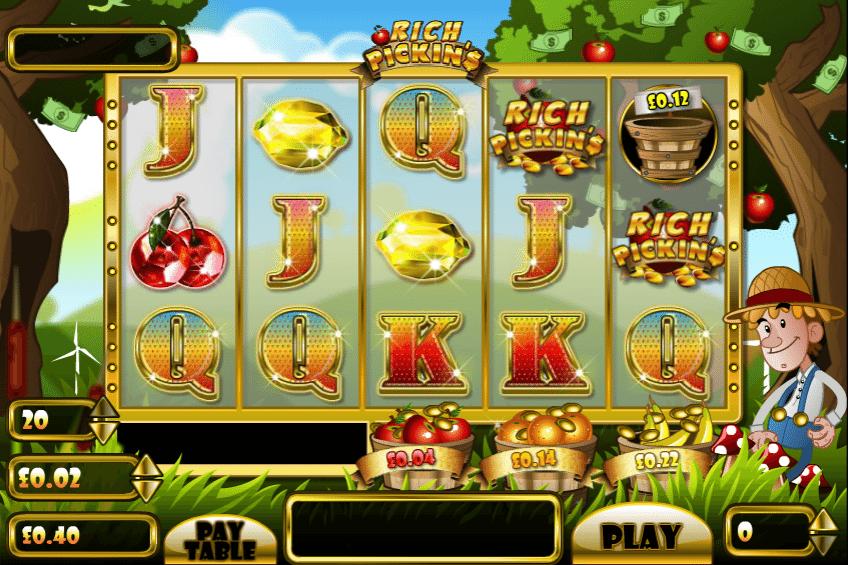 Kostenlose Spielautomat Rich Pickins Online