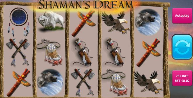Kostenlose Spielautomat Shamans Dream Online