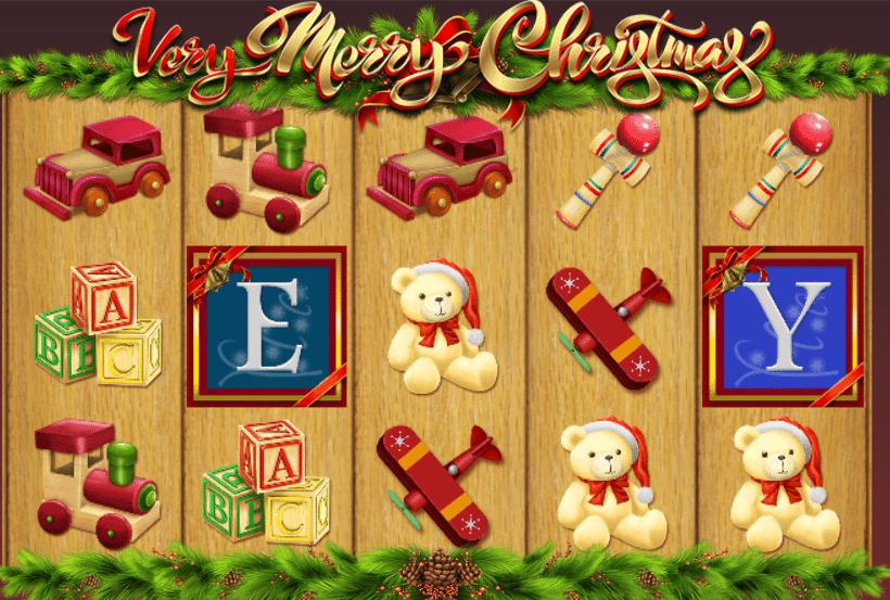 spielautomat very merry christmas kostenlos online  jetzt